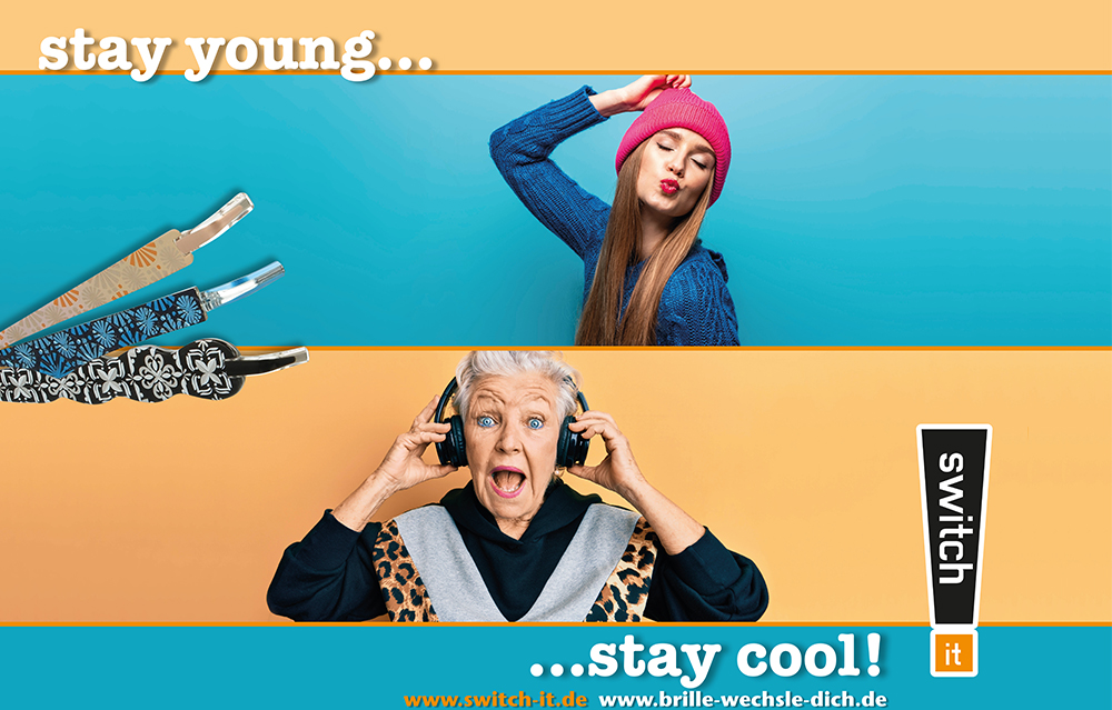 switch it Brillen fu¨r den perfekten Look